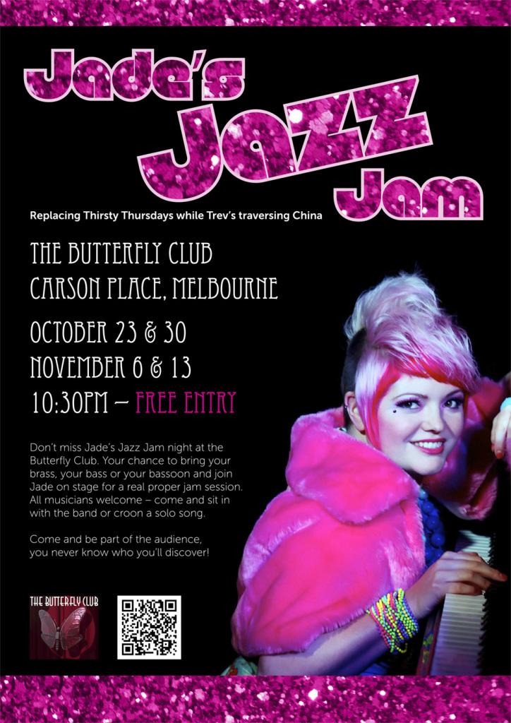1164 JAL Jade's Jazz Jam Poster_FA